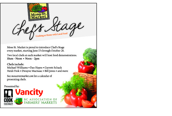 Chef's Stage Ad