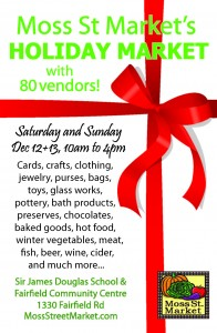 Holiday Market Poster, 2015 website